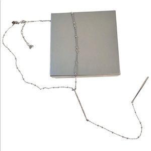 REBECCA MINKOFF Silver Pendant Necklace - NWT